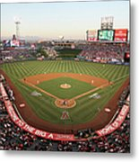Oakland Athletics V Los Angeles Angels Metal Print