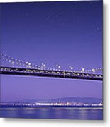 Oakland Bay Bridge Metal Print