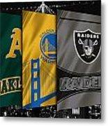 Oakland Sports Teams Metal Print