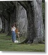 Oaks Of Audubon Park Metal Print