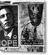 Obama Election Poster Metal Print