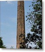 Obelisk - Central Park Nyc Metal Print