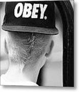 Obey  Metal Print