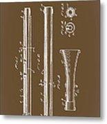 Oboe Patent 1931 Metal Print