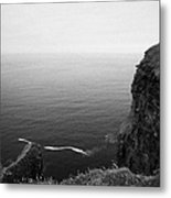 O'briens Tower On The Cliffs Of Moher County Clare Ireland Metal Print
