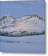 Observation Peak Metal Print by Michele Myers