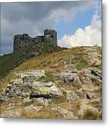 Observatory On The Pip Ivan Mountain Metal Print