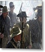 Observing And Awaiting Orders - Perryville Ky Metal Print