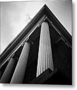 Observing Architecture Metal Print by Chris Zeigler