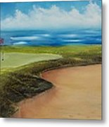 Obstacles To A Beautiful Game Metal Print