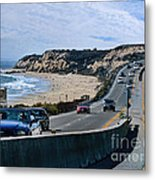 Oc On Pch In Ca Metal Print