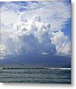 Ocean And Clouds Metal Print