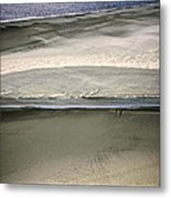 Ocean At Low Tide Metal Print