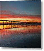 Ocean Beach California Pier 3 Metal Print