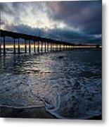 Ocean Beach Pier 4 Metal Print