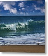 Ocean Blue Morning 2 Metal Print