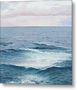 Ocean By Jan Matson Metal Print