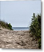 Ocean City Beach Metal Print
