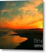 Ocean City Nj Sunset Metal Print