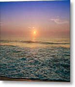 Ocean City Sunrise Metal Print