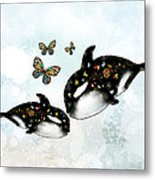 Ocean Of Love Metal Print