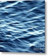 Ocean Ripples Metal Print by Artist and Photographer Laura Wrede