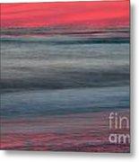 Ocean Smear Metal Print by Janet Moss