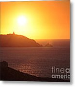 Ocean Sunset  Metal Print