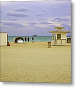 Ocean View 3 - Miami Beach - Florida Metal Print