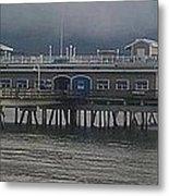 Ocean View Pier Metal Print