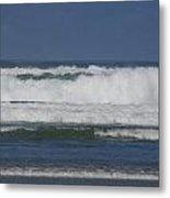 Ocean Waves 2 Metal Print