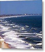 Oceanfront Landscape Metal Print