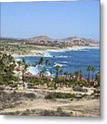 Oceanfront Relaxation Metal Print