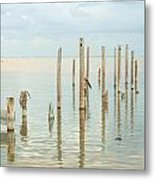 Oceanic Tranquility 2 Metal Print