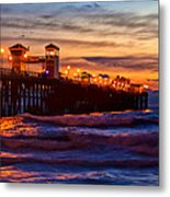 Oceanside Sunset IIi Metal Print