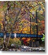 Ocoee River Bridge Metal Print by Debra and Dave Vanderlaan