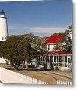 Ocracoke Island Lighthouse Img 3529 Metal Print