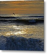 Ocracoke Morning Metal Print