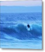 October Surf 3 Metal Print