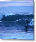 October Surf Metal Print