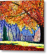 October Surprise Metal Print