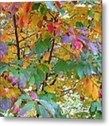 October Watercolors_4 Metal Print