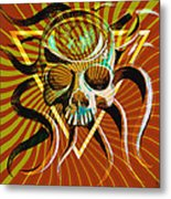 Ocupus Remix Metal Print