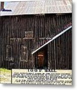 Odd Fellows Historical Building Metal Print