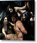Odysseus And The Sirens Metal Print