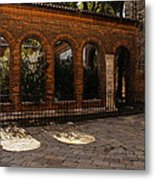Of Courtyards And Elegant Arches  Metal Print