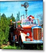 Of Days Gone By Metal Print