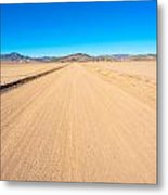 Off-road To Death Valley National Park Metal Print