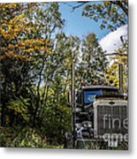Off Road Trucker Metal Print