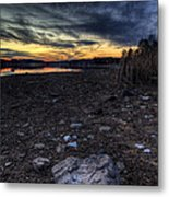Off Season Sunset Metal Print